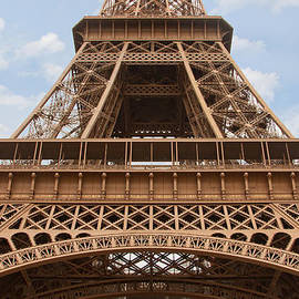 The Majestic Eiffel Tower by Lindley Johnson