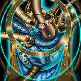 The Mechanical Heart by James Christopher Hill