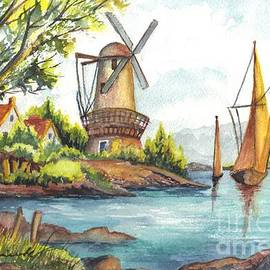 The Olde Mill by Carol Wisniewski