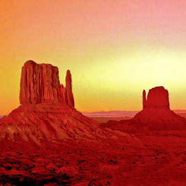 Bob and Nadine Johnston - The Mittens Monument Valley
