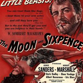 The Moon And Sixpence 1943 1940s Usa by The Advertising Archives