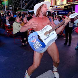Ed Weidman - The Naked Cowboy In Times Square