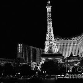 The Nightlife Black And White by Mary Lou Chmura
