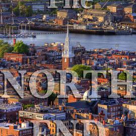 Joann Vitali - The North End - Boston Poster