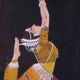 Uma Swaminathan - The Odissy Dancer