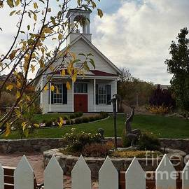 The Ol Nevada School House by Bobbee Rickard