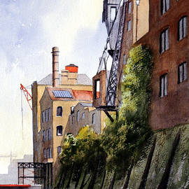 Bill Holkham - The Old Docks - Rotherhithe London