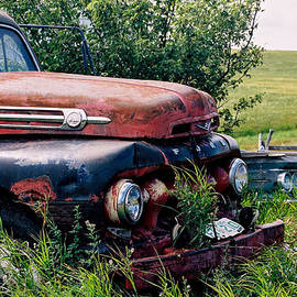 The Old Farm Truck by Roxy Hurtubise
