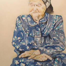 The Old Holocaust Survivor by Esther Newman-Cohen