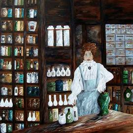 Eloise Schneider - The Old Pharmacy ... Medicine in the Making