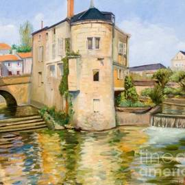 The Old Water Mill by Dominique Amendola