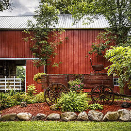 The Old Wood Cart by Debra and Dave Vanderlaan