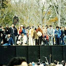The 1982 Opening And Dedication Of The Wall - 2 by Walter Neal