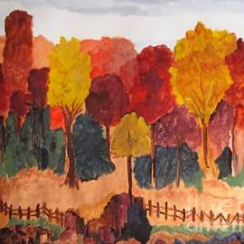 Sandy McIntire - The Pasture in Autumn