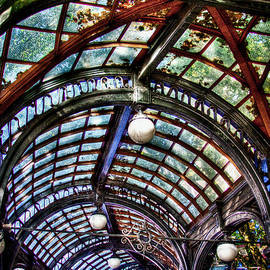 The Pergola Ceiling in Pioneer Square by David Patterson