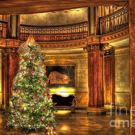 The Christmas Tree The Ponce Atlanta Georgia Christmas Art by Reid Callaway