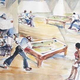 Harold Ellison - The Pool Hall