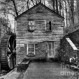 Douglas Stucky - The Rice Gristmill Hdr BW