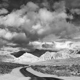 Silvio Ligutti - The Road to Turtlehead Peak Las Vegas Strip Nevada Red Rock Canyon Mojave Desert