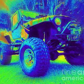 The Rock Crawling Jeep by Myrna Bradshaw