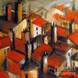 Mona Edulesco - The Roofs Of Lyon