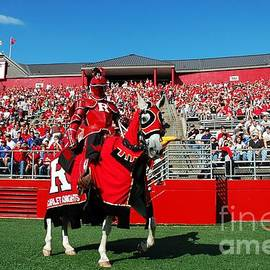 Allen Beatty - The Scarlet Knight and His Noble Steed
