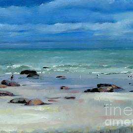 Catherine Considine - The Sea At Lisnagree Dingle Kerry on the Wild Atlantic Way of Western Ireland