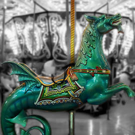The Sea Dragon - Carousel by Colleen Kammerer