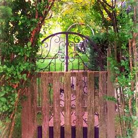 The Secret Gardens Gate by Becky Lupe