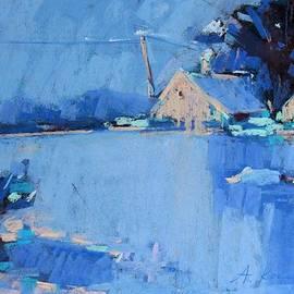 Alena Kogan - The snow field