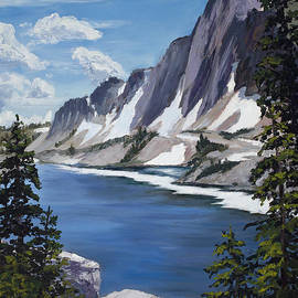 The Snowy Range by Mary Giacomini