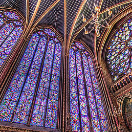 The Stained Glass of La Sainte-Chapelle by Tim Stanley