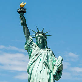 The Statue Of Liberty  by Anthony Sacco