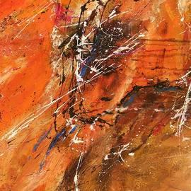 Ismeta Gruenwald - The Temptation -Abstract Art