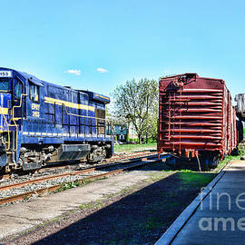 The Train Depot by Paul Ward