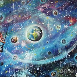 The Universe is my Playground by Dariusz Orszulik