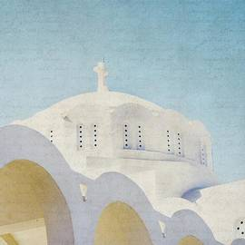 Lisa Parrish - The White Arches - Santorini