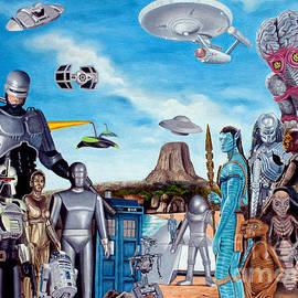 Tony Banos - The world of Sci Fi