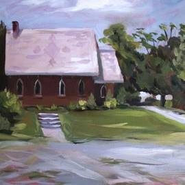 The Wyben Union Church by Nancy Griswold