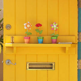 The Yellow Door by Art Block Collections