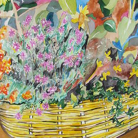 Esther Newman-Cohen - The Yellow Wicker Basket