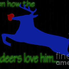 Tina M Wenger - Then How The Reindeers Love Him