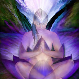 Carol Cavalaris - Third Eye Chakra Goddess