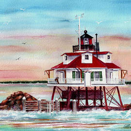 Bette Orr - Thomas Point Lighthouse