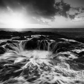 Thors Well Oregon Monochrome by Bob Christopher