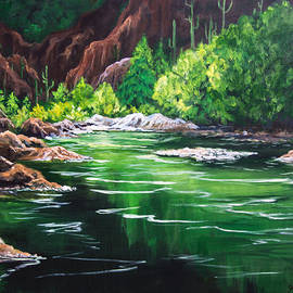 Thousand Trails Verde River Arizona by Bob and Nadine Johnston