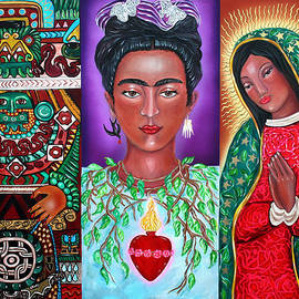 Three Faces of Frida by Ilene Satala