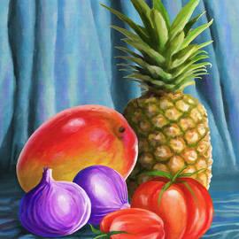 Anthony Mwangi - Three fruits and a vegetable