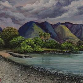 Darice Machel McGuire - Three Palms at Olowalu