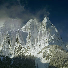 Ed  Cooper Photography - 1M4503-Three Peaks of Mt. Index